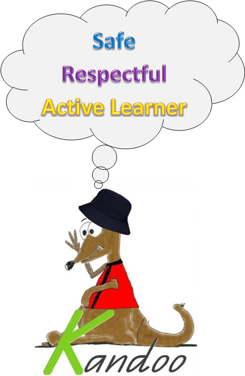 Safe, Respectful, Active Learner; Kandoo Kangaroo